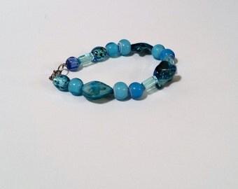 Mad about blues bracelet