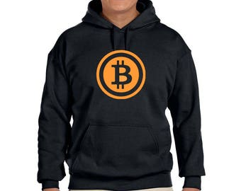 BITCOIN P2P  Graphic Hoodie  100% Screen Printed  ***Free Shipping***