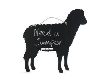 Sheep Chalkboard