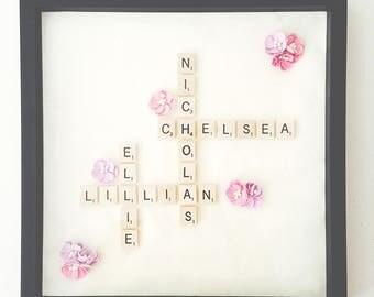Custom Scrabble Picture