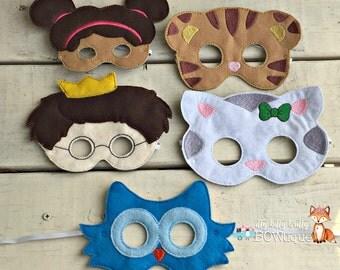 Daniel Tiger's Neighborhood inspired mask.