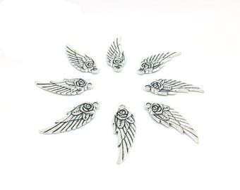 30 wings with 31mm flower charms