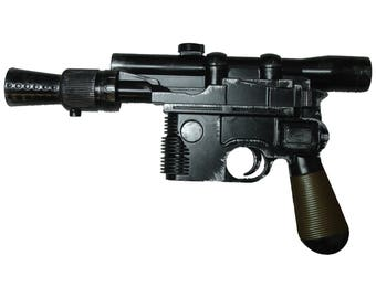 Custom Painted and Weathered Replica Han Solo Blaster DL-44