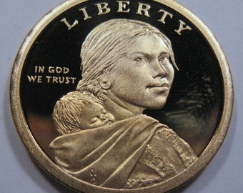 2010 S mint Proof one dollar Native American collector coin (#E29g)