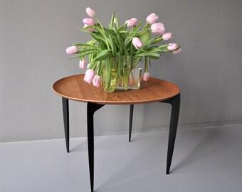 Fritz Hansen Radiant Tray Table Willumsen & Engholm Denmark 1950s Danish Design