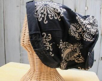New flower design beanie hat (Unisex)