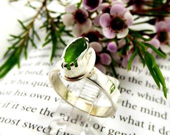 English Sea Glass Ring