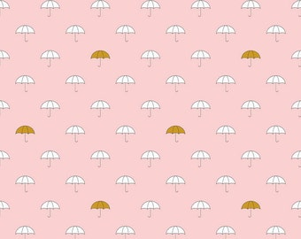 SALE!! 1 Yard When Skies are Grey by Simple Simon and Co. for Riley Blake Designs - 5600 Main Pink Sparkle