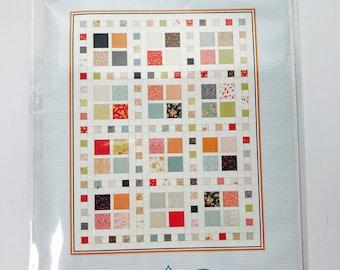 "Square DancePattern By Gigi's Thimbles- Finished Quilt Size 54.5"" x 70.5"" Lap Size- Pattern includes multiple sizes"