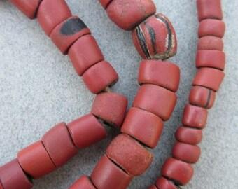 African 'Green Heart' Beads [65711]