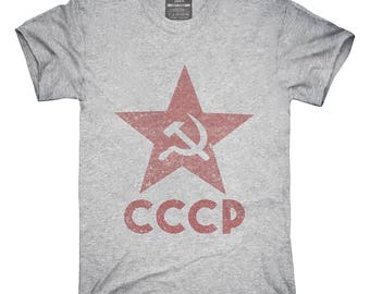 CCCP Hammer Sickle T-Shirt, Hoodie, Tank Top, Gifts