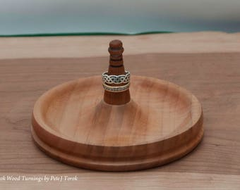 Curl Maple and Roasted Curly Maple Ring Holder