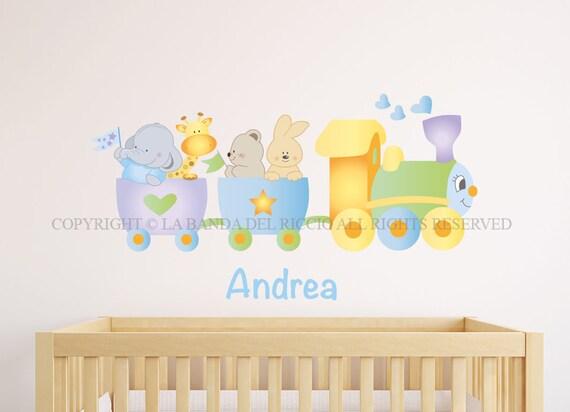 Adesivi murali bambini wall decals baby wall stickers - Stickers murali ikea ...