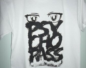 Psycho Pass anime manga inspired graphic tee shirt - Men Women shirts - Oversize Shirt 3XL 4XL
