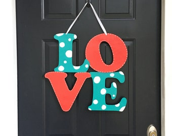 Valentine Door Hanger, Wooden Door Hanher