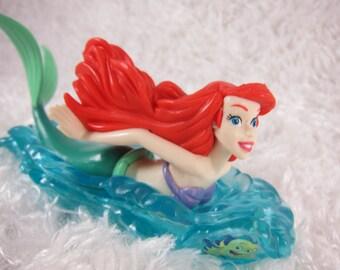 The little Mermaid Ariel cake topper, Birthday cake topper, Mermaid Ariel cake topper