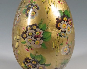 vintage German Easter Egg candy container