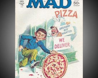 Mad Magazine No 183 June 1976