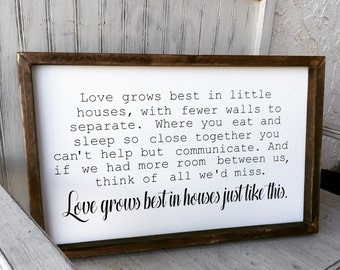 Love grows best in houses just like this  **FREE SHIPPING**