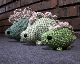Stubbo | Digital Crochet Pattern | Amigurumi Dinosaur