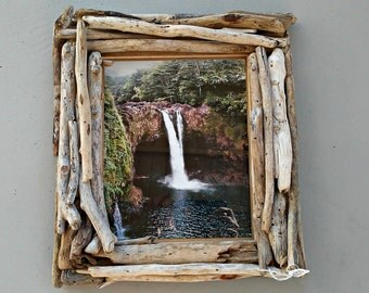 driftwood frame 8x10 picture frame driftwood home decor beach wedding frame unique wooden photo frame coastal beach decor rustic decor