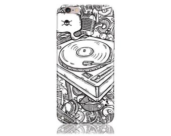 iPhone 7 Plus Case - iPhone 7+ Case - iPhone 7 + Case #DJ Design Hard Phone Case