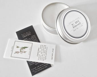 Cuticle Salve - Cuticle Balm - Cuticle Cream - Cuticle Oil - Organic - Nail Care - Organic Skincare - Spa Gift - Gift for Her - Almond