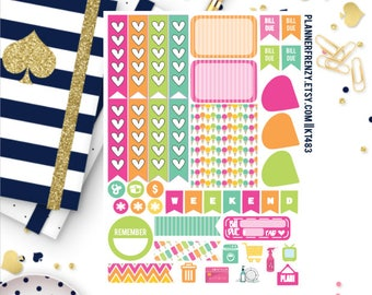 Frozen Treats Collection Sampler Planner Stickers! KT483
