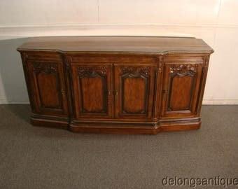 Drexel Heritage Pecan Wood French Style Sideboard