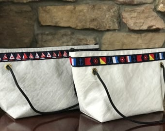 Georgia Bag - Sailcloth Handbag