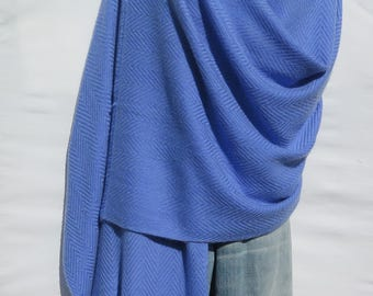 Light Blue Shawl