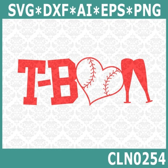 CLN0254 T-Ball T Ball Player Game Play Kid's Youth League SVG DXF Ai Eps PNG Vector Instant Download Commercial Cut File Cricut Silhouette