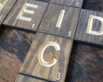 Scrabble Wall Tiles - Home or Office Decorations