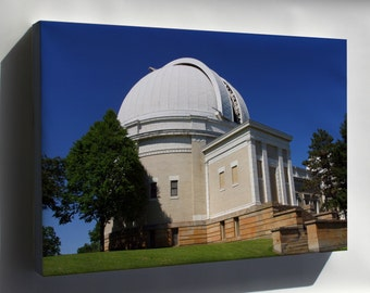 Canvas 24x36; Allegheny Observatory 2007A