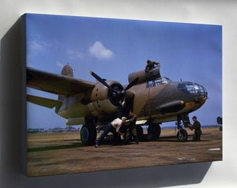 Canvas 16x24; Douglas A-20C-Bo Havoc At Langley Field, Virginia (Usa), In July 1942. Since The Aricraft Wears The Number 635