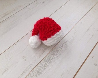 Christmas hat newborn props