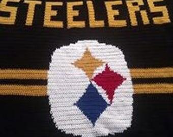 Steelers Afghan Pattern