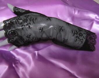 Clearance - 25% lace fingerless mittens, fingerless gloves long fingerless gloves
