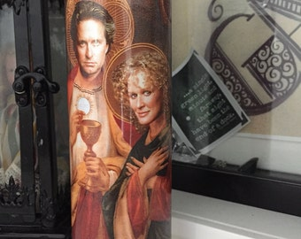 St Glenn Close Michael Douglas Fatal Attraction Candle