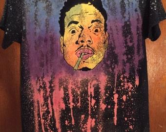 Chance the Rapper Hand Made Galaxy T-Shirt