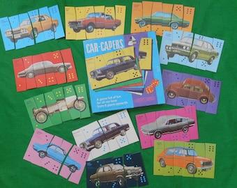 vintage 1970's Design Centre Car-Capers dice game
