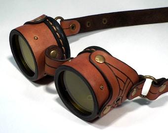 "Steampunk Goggles ""SimpleG-03"""