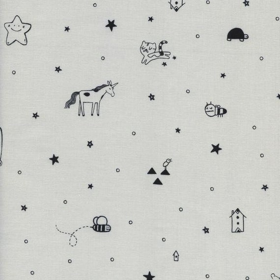 Changing Pad Cover >> Sleep Tight Tinies in Grey >> Made-to-Order unicorn changing pad, grey changing pad, star changing pad, bee change pad