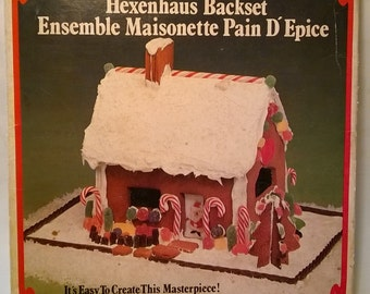 Gingerbread House Cookie Cutter Kit