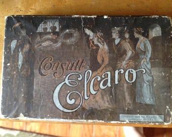 Antique/ vintage Elcaro Fortune Telling Game 1914