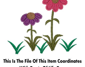 Roots Of Life - ACCESSORY FLOWERS - Digital Machine Embroidery Design (Tree Sold Separately)