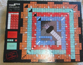 Vintage 1985  TimeStalk: A Space Age Game for Hunters and Gatherers Board Game *VERY RARE* Only 2500 copies