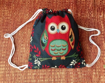 Backpack Aztec Tribal Festival Boho Drawstring Bags Ethnic