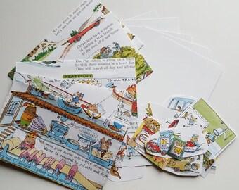 Stationary Epherma envelopes kit #13