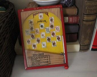 Vintage Miniature Bagatelle Pinball